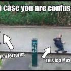 Il vigile urbano arabo assassinato