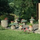 Meules dans un jardin orvieto