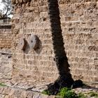 Mur meules crusader wal at caesarea maritima munts net
