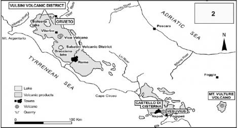RMP roman Magmatic Province