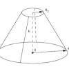Volume tronc de cone